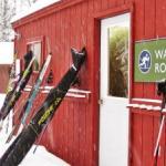 Skis at the Wax Room
