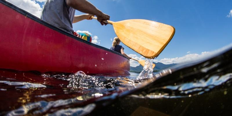 Canoe rentals in Maine