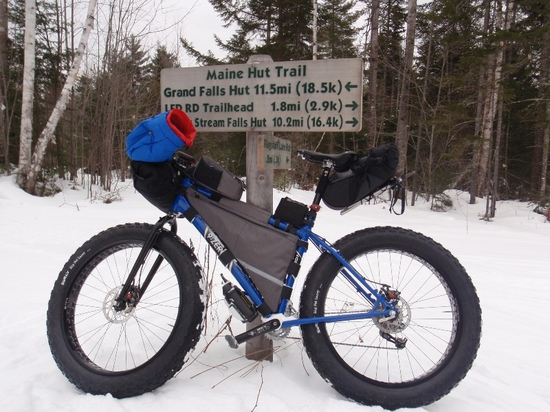 Fat Bikes 101 Maine Huts Trails