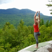 Yoga at Stratton Brook Hut