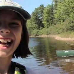 Paddling the Dead River at Maine Huts & Trails