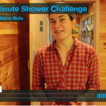3-minute shower challenge