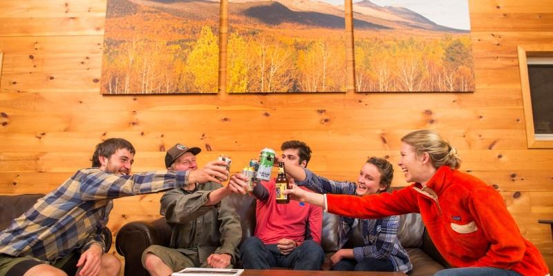 Backcountry lodging in Maine