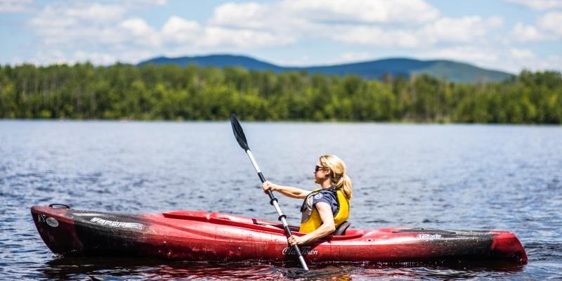 Kayak rentals in Maine