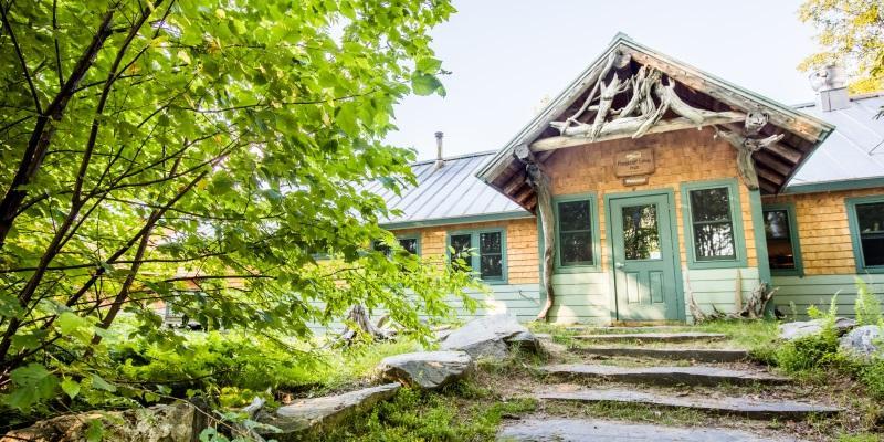 Flagstaff Hut in Summer