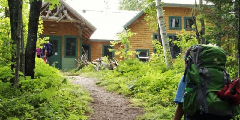 Hiking Hut to Hut in Maine