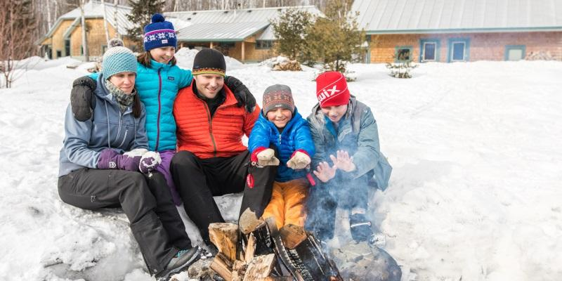 Family, Kids, Winter Trip, Outdoor