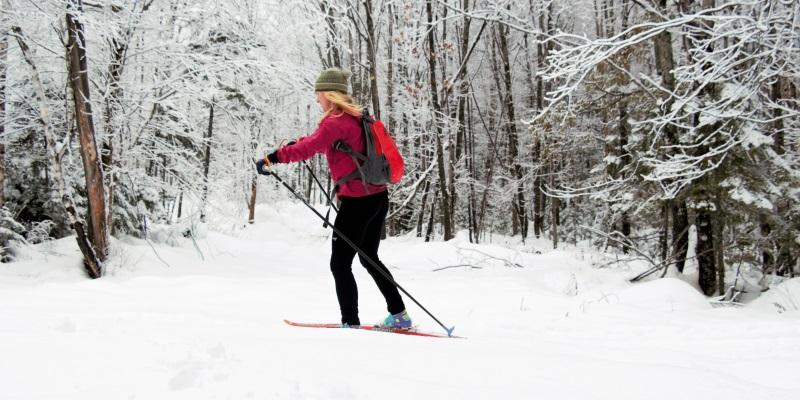 Nordic skiing in Maine