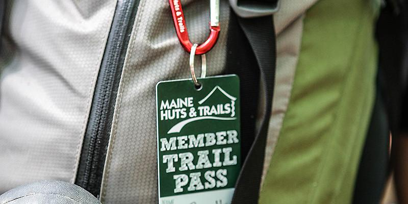 Maine Huts & Trails member trail pass