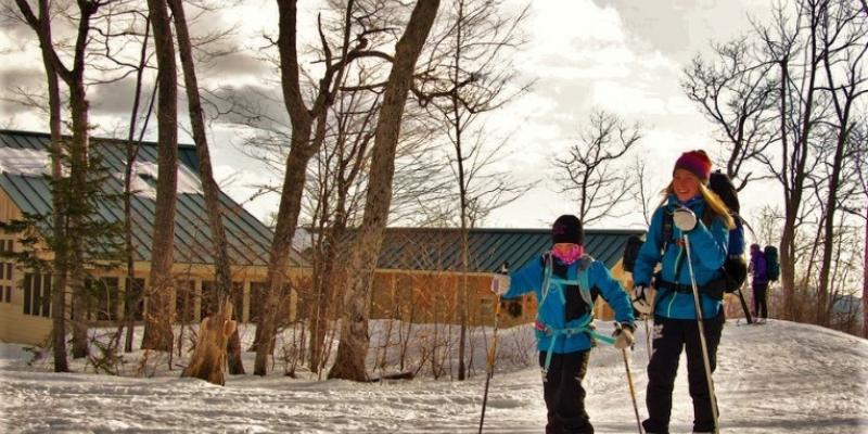 Skiing Hut to Hut in Maine