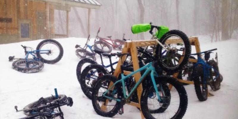 Hut to Hut Fat Biking in Maine